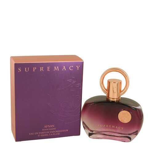 Supremacy Pour Femme by Afnan Eau De Parfum Spray 3.4 oz (Women)