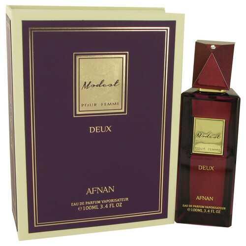 Modest Pour Femme Deux by Afnan Eau De Parfum Spray 3.4 oz (Women)