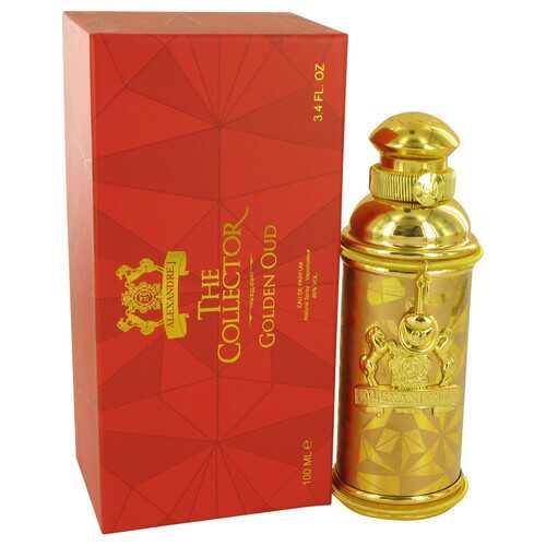 Golden Oud by Alexandre J Eau De Parfum Spray 3.4 oz (Women)