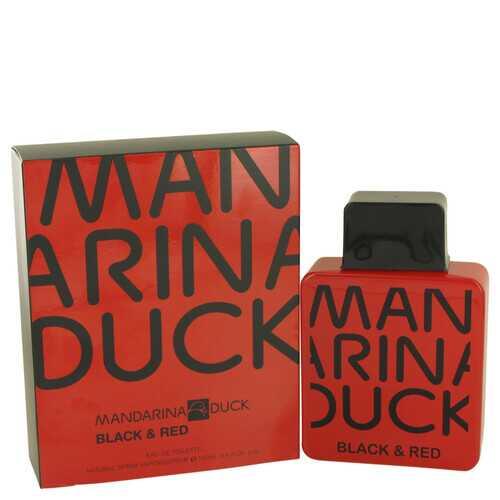Mandarina Duck Black & Red by Mandarina Duck Eau De Toilette Spray 3.4 oz (Men)