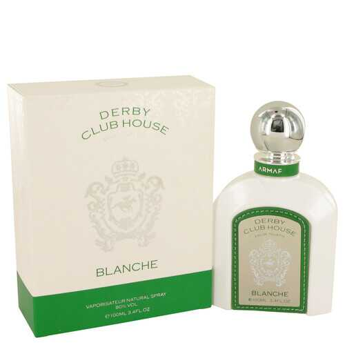 Armaf Derby Blanche White by Armaf Eau De Toilette Spray 3.4 oz (Men)