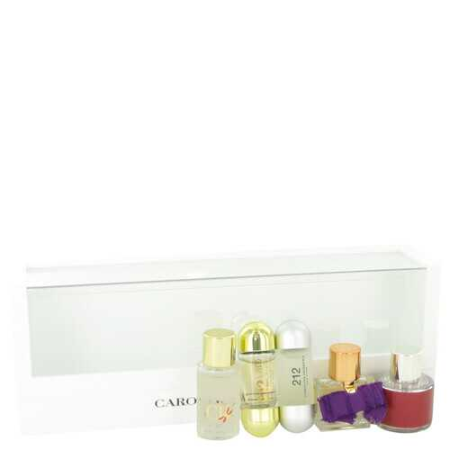 CH Carolina Herrera by Carolina Herrera Gift Set -- Mini Set includes 212 212 VIP CH CH Eau De Parfum Sublime and CH L'eau in beautiful gift box. (Women)