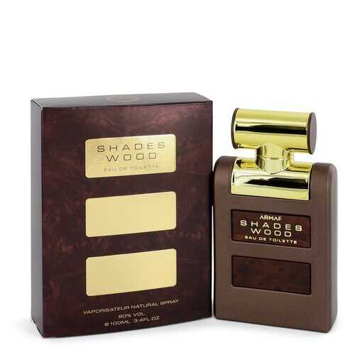 Armaf Shades Wood by Armaf Eau De Toilette Spray 3.4 oz (Men)