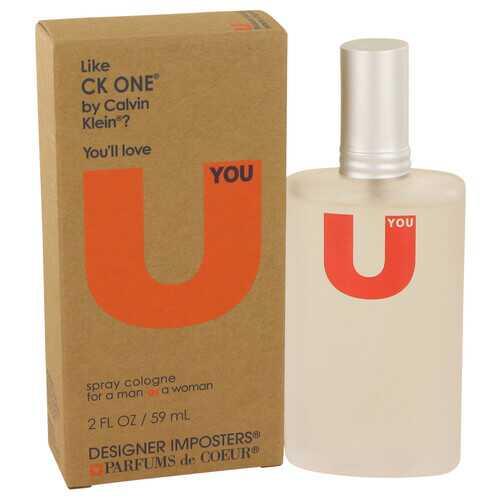 Designer Imposters U You by Parfums De Coeur Cologne Spray (Unisex) 2 oz (Women)