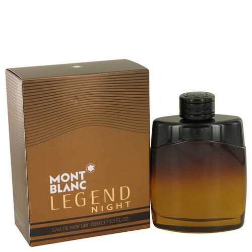 Montblanc Legend Night by Mont Blanc Eau De Parfum Spray 3.3 oz (Men)