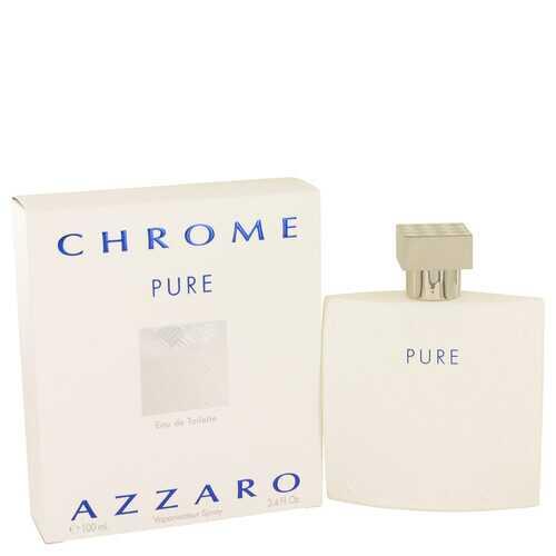 Chrome Pure by Azzaro Eau De Toilette Spray 3.4 oz (Men)