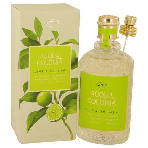 4711 Acqua Colonia Lime & Nutmeg by Maurer & Wirtz Eau De Cologne Spray 5.7 oz (Women)