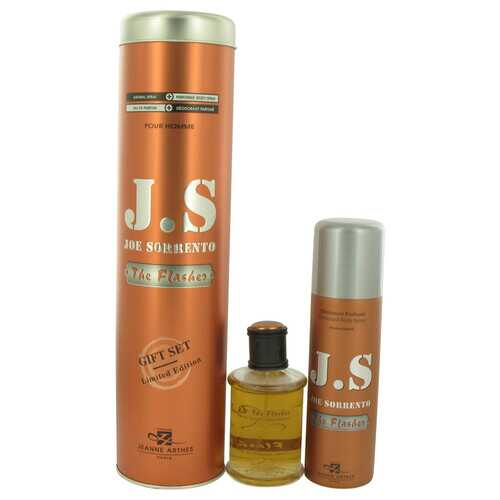 Joe Sorrento The Flasher by Joe Sorrento Gift Set -- 3.3 oz Eau De Parfum Spray + 6.7 oz Body Spray (Men)
