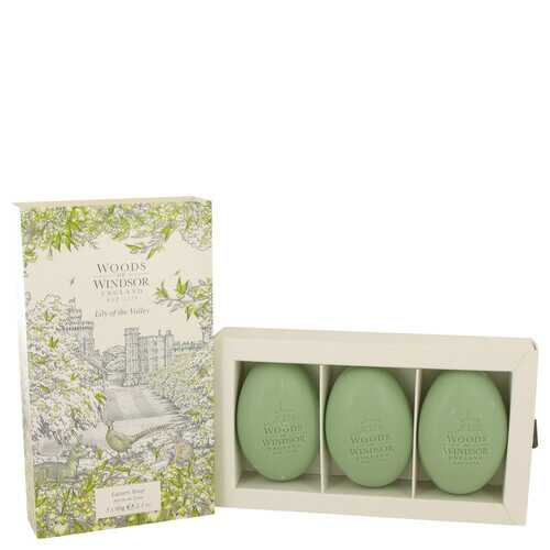 Lily of the Valley (Woods of Windsor) by Woods of Windsor Three 2.1 oz Luxury Soaps 2.1 oz (Women)