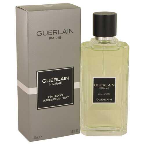 Guerlain Homme L'eau Boisee by Guerlain Eau De Toilette Spray 3.3 oz (Men)