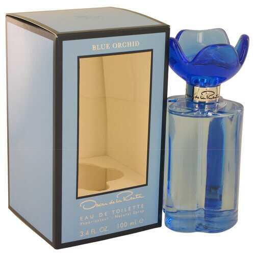 Oscar Blue Orchid by Oscar De La Renta Eau De Toilette Spray 3.4 oz (Women)