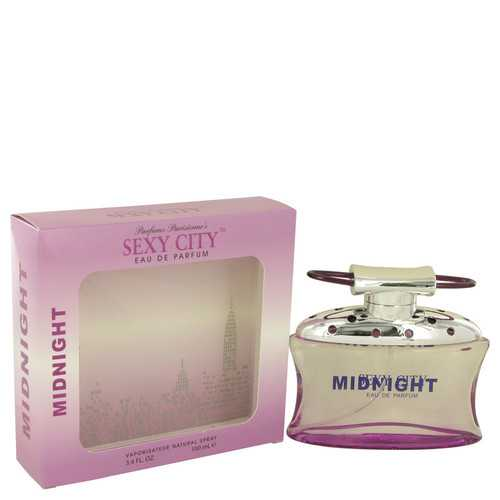 Sexy City Midnight by Parfums Parisienne Eau De Parfum Spray 3.4 oz (Women)