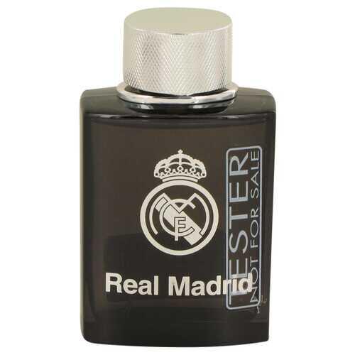 Real Madrid Black by Air Val International Eau De Toilette Spray (Tester) 3.4 oz (Men)