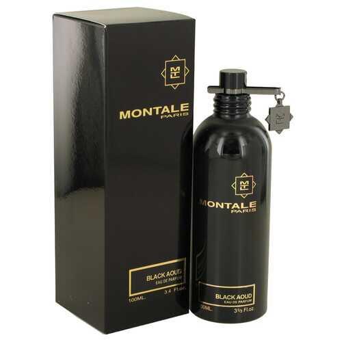 Montale Black Aoud by Montale Eau De Parfum Spray (Unisex) 3.4 oz (Women)