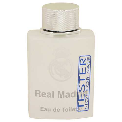 Real Madrid by AIR VAL INTERNATIONAL Eau De Toilette Spray (Tester) 3.4 oz (Men)