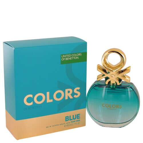 Colors De Benetton Blue by Benetton Eau De Toilette Spray 2.7 oz (Women)