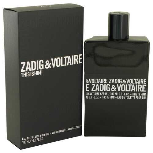 This is Him by Zadig & Voltaire Eau De Toilette Spray 3.4 oz (Men)