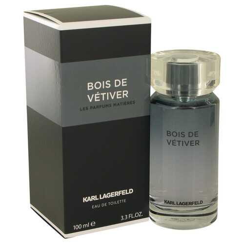 Bois De Vetiver by Karl Lagerfeld Eau De Toilette Spray 3.3 oz (Men)