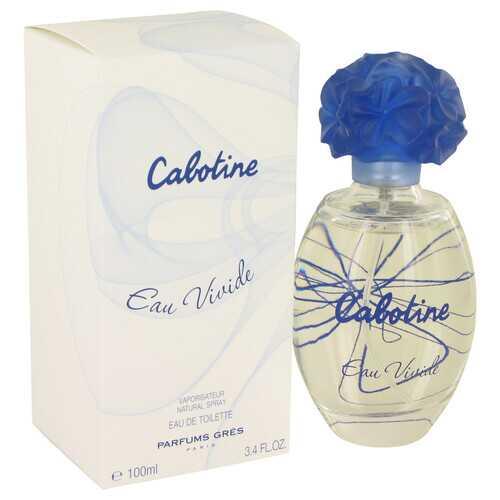 Cabotine Eau Vivide by Parfums Gres Eau De Toilette Spray 3.4 oz (Women)