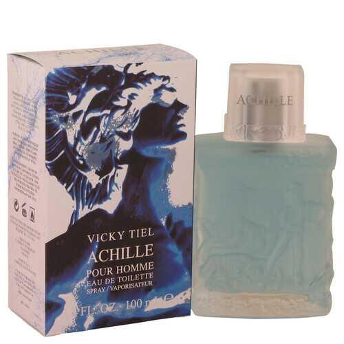 Achille Pour Homme by Vicky Tiel Eau De Toilette Spray 3.4 oz (Men)