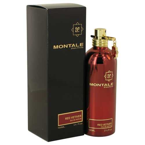 Montale Red Vetiver by Montale Eau De Parfum Spray 3.4 oz (Men)