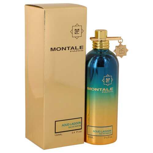 Montale Aoud Lagoon by Montale Eau De Parfum Spray (Unisex) 3.4 oz (Women)