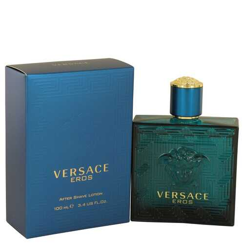 Versace Eros by Versace After Shave Lotion 3.4 oz (Men)