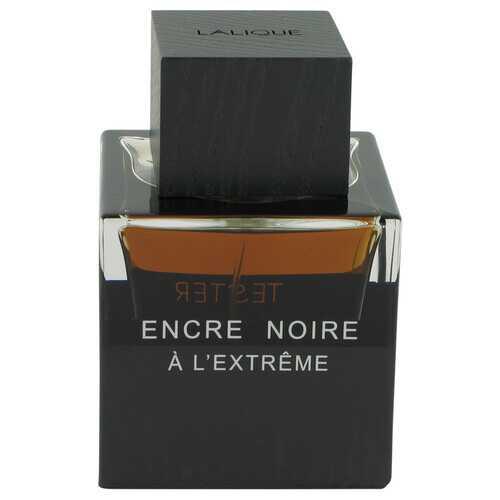 Encre Noire A L'extreme by Lalique Eau De Parfum Spray (Tester) 3.3 oz (Men)