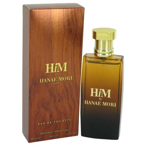 Hanae Mori Him by Hanae Mori Eau De Toilette Spray 1.7 oz (Men)