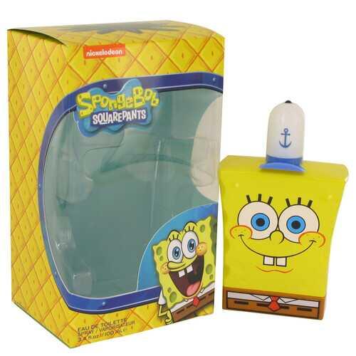 Spongebob Squarepants by Nickelodeon Eau De Toilette Spray (New Packaging) 3.4 oz (Men)