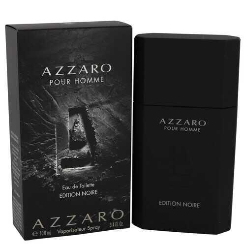 Azzaro Pour Homme Edition Noire by Azzaro Eau De Toilette Spray 3.4 oz (Men)