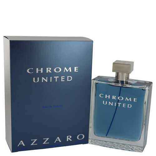 Chrome United by Azzaro Eau De Toilette Spray 6.8 oz (Men)