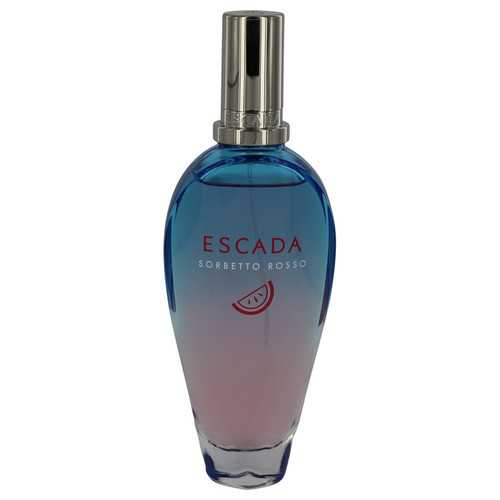 Escada Sorbetto Rosso by Escada Eau De Toilette Spray (Tester) 3.3 oz (Women)