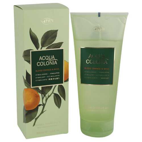 4711 Acqua Colonia Blood Orange & Basil by Maurer & Wirtz Shower Gel 6.8 oz (Women)