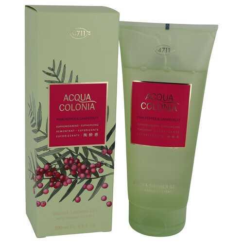 4711 Acqua Colonia Pink Pepper & Grapefruit by Maurer & Wirtz Shower Gel 6.8 oz (Women)