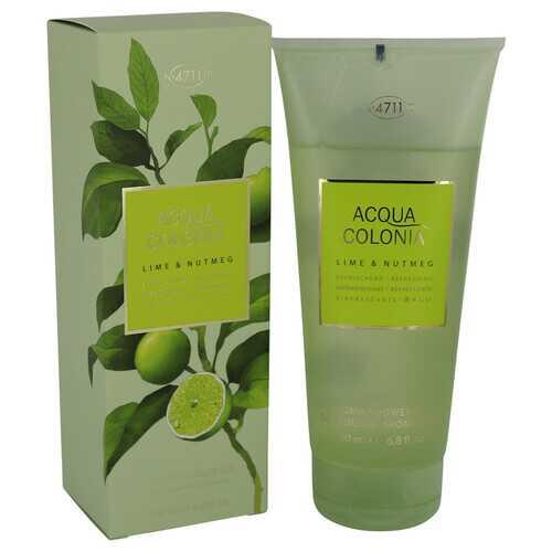4711 Acqua Colonia Lime & Nutmeg by Maurer & Wirtz Shower Gel 6.8 oz (Women)