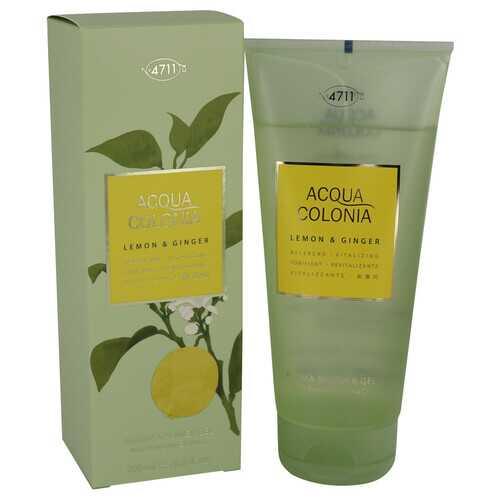 4711 ACQUA COLONIA Lemon & Ginger by Maurer & Wirtz Shower Gel 6.8 oz (Women)