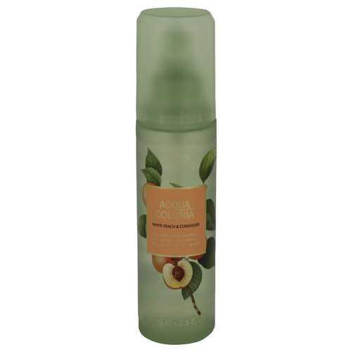 4711 Acqua Colonia White Peach & Coriander by Maurer & Wirtz Body Spray 2.5 oz (Women)
