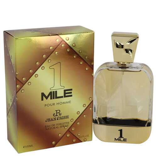 1 Mile Pour Homme by Jean Rish Eau De Toilette Spray 3.4 oz (Men)