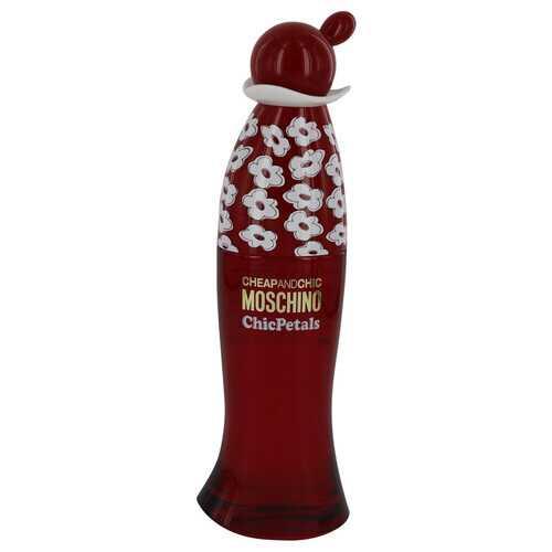 Cheap & Chic Petals by Moschino Eau De Toilette Spray (Tester) 3.4 oz (Women)