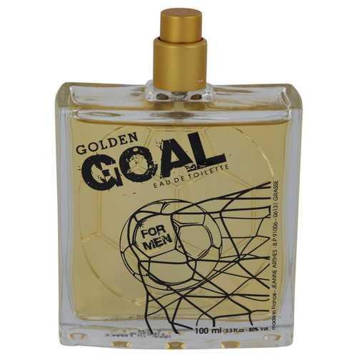 Golden Goal Gold by Jeanne Arthes Eau De Toilette Spray (Tester) 3.3 oz (Men)