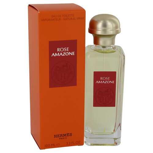 Rose Amazone by Hermes Eau De Toilette Spray 3.3 oz (Women)