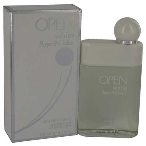 Open White by Roger & Gallet Eau De Toilette Spray 3.3 oz (Men)