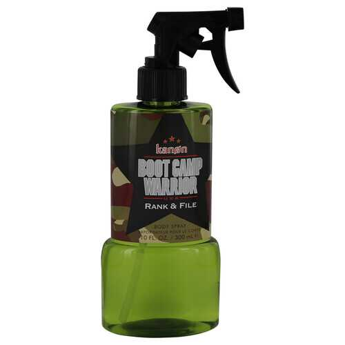 Kanon Boot Camp Warrior Rank & File by Kanon Body Spray 10 oz (Men)