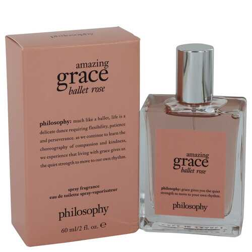 Amazing Grace Ballet Rose by Philosophy Eau De Toilette Spray 2 oz (Women)