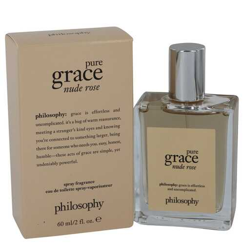 Pure Grace Nude Rose by Philosophy Eau De Toilette Spray 2 oz (Women)
