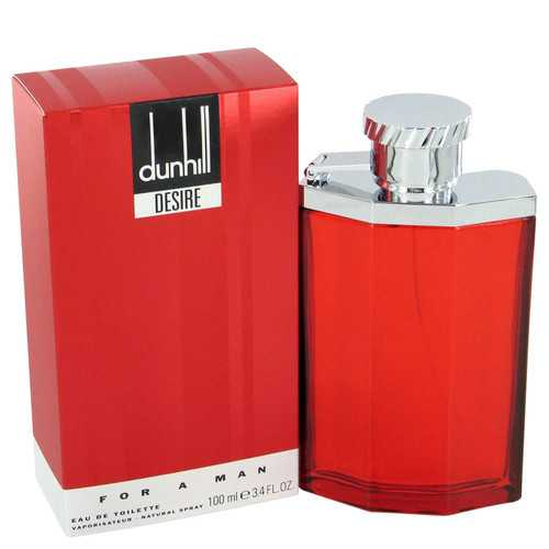 DESIRE by Alfred Dunhill Gift Set -- 3.4 oz Eau De Toilette Spray + 3 oz Shower Gel + 6.6 oz Body Spray (Men)