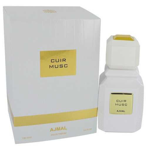 Ajmal Cuir Musc by Ajmal Eau De Parfum Spray (Unisex) 3.4 oz (Women)