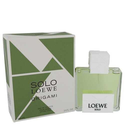Solo Loewe Origami by Loewe Eau De Toilette Spray 3.4 oz (Men)