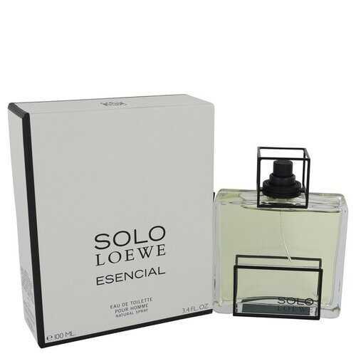 Solo Loewe Esencial by Loewe Eau De Toilette Spray 3.4 oz (Men)